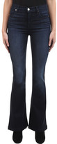 J Brand Women's Maria High-Rise Flare Jean in Dark Innovation