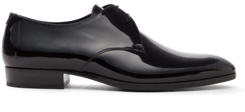 50acfd56a3 Wyatt 25 Patent Leather Derby Shoes - Mens - Black