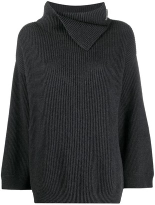 Brunello Cucinelli Cashmere Roll-Neck Jumper