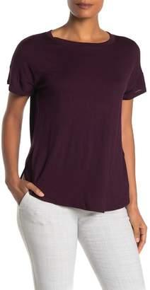 H By Bordeaux Crew Neck Short Sleeve T-Shirt