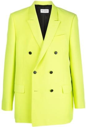 Teddy Vonranson Double Breasted Blazer Jacket