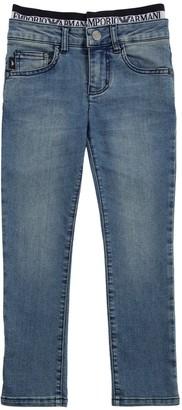 Emporio Armani Stretch Cotton Denim Jeans