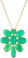 Irene Neuwirth Chrysoprase Flower Necklace