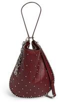 Alexander Wang Roxy Studded Leather Hobo Bag - Red