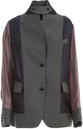 Sacai Suiting Jacket High Neck