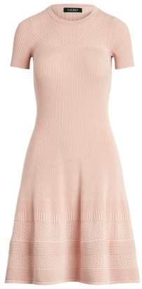 Ralph Lauren Linen-Blend Short-Sleeve Dress