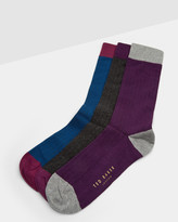 Ted Baker Colour block sock set