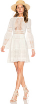 Sea Baja Lace Long Sleeve Dress in White. - size 2 (also in )