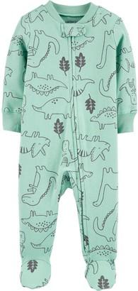 Carter's Baby Boy Dinosaur 2-Way Zip Sleep & Play
