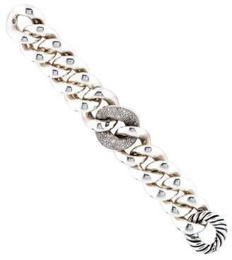 David Yurman Diamond Link Bracelet