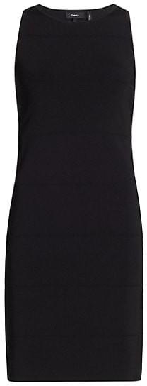 Theory Pointelle Mini Dress