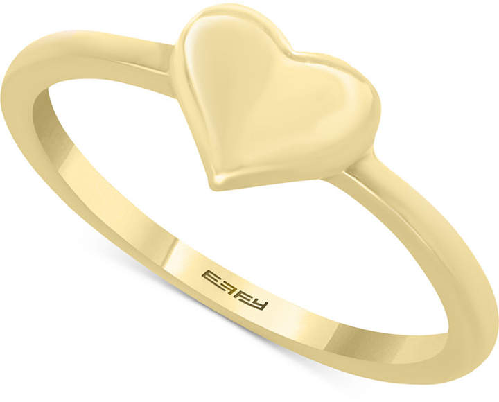 Effy Kidz Children's Polished Heart Ring in 14k Gold