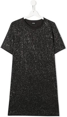 Diesel TEEN embellished T-shirt dress