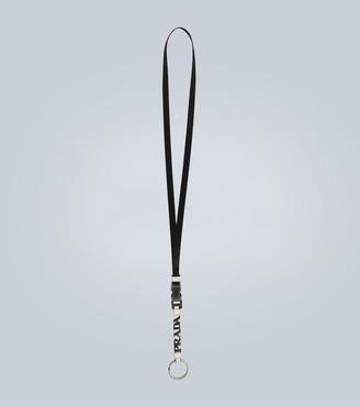 Prada Keyring with detachable strap