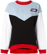 Au Jour Le Jour colour block sweatshirt