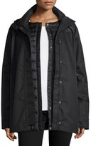The North Face 3-in-1 Hooded Jacket w/ Down Liner, Black