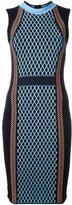 Versace runway knit sport dress - women - Polyester/Viscose/Wool - 40