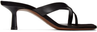 Neous Black Florae 55MM Heeled Sandals