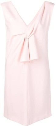 Lanvin v-neck short dress