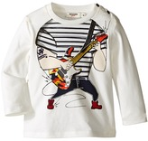 Junior Gaultier Trompe L'oeil Guitarist Long Sleeves Tee Shirt Boy's T Shirt