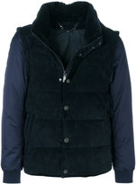 Brioni gilet-look padded jacket