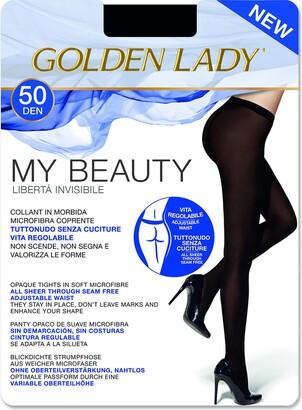 Golden Lady Goldenlady Women's My Beauty 50 Hold-Up Stockings 50 DEN