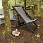 Arabella Elk Outdoors Reclining/Folding Deck Chair ELK OUTDOORS Frame Color: Abyss
