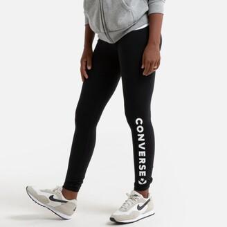 Converse Cotton Mix Leggings with Printed Leg