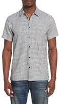 RVCA Men's Fried Check Woven Shirt