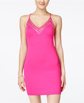 B. Darlin Juniors' Embellished Bodycon Dress