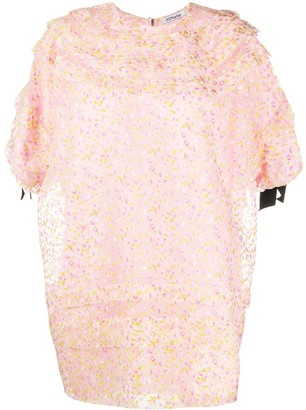 Parlor Hope floral-print mini dress