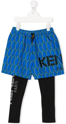 Kenzo Kids Shorts And Trousers Set