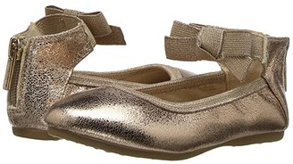 Kenneth Cole Reaction Rose Bow (Toddler) (Rose Metallic) Girl's Shoes