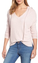 Velvet by Graham & Spencer Women's Ribbed Hoodie