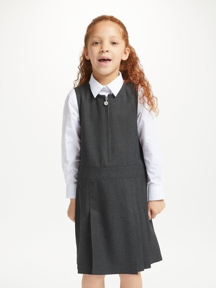 John Lewis & Partners Girls' Zip School Tunic