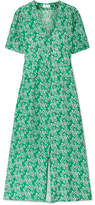 RIXO London - Jackson Floral-print Crepe Midi Dress - Green