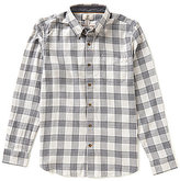 Timberland Sugar River Plaid Long-Sleeve Woven Shirt