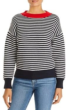 Daniel Rainn Striped Crewneck Sweater