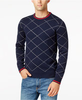 Tommy Hilfiger Men's Big & Tall Argyle Sweater