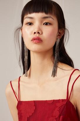 Keepsake OFFSET DRESS rouge