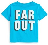Kid Dangerous Infant Boy's Far Out Graphic T-Shirt