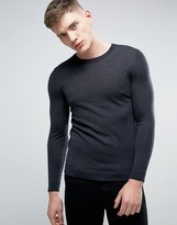 Esprit 100% Merino Wool Crew Neck Sweater