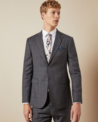 Ted Baker FEENJ Performance check suit jacket