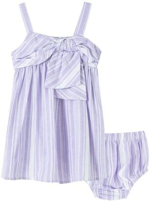 Habitual Drape Babydoll Dress