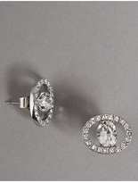 Autograph Circular Sparkling Earrings MADE WITH SWAROVSKI® ELEMENTS