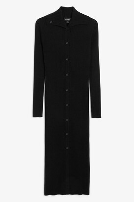 Monki Knit maxi dress