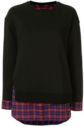 Juun.J layered shirt jumper