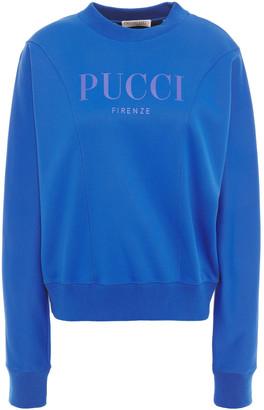 Emilio Pucci Printed Scuba Sweatshirt