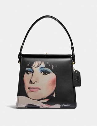 Coach X Richard Bernstein Turnlock Shoulder Bag With Barbra Streisand