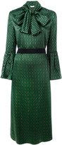 Fendi - robe à motif géométrique